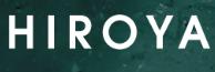 HIROYAのロゴ画像