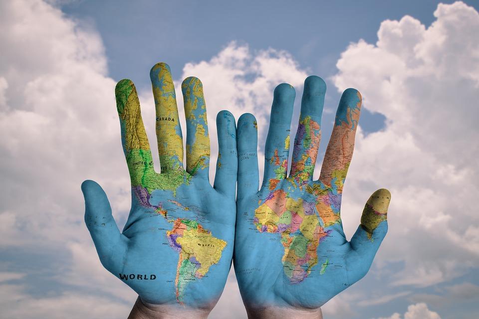 世界地図 画像